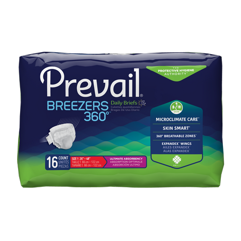 diapers Prevail Breezers 360* By First Quality