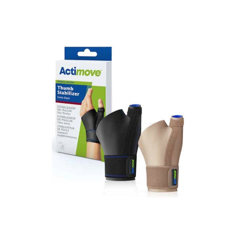 Actimove Thumb Stabilizer Extra Stays Black