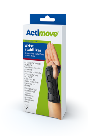 Actimove Wrist Stabilizer Removable Metal Stay