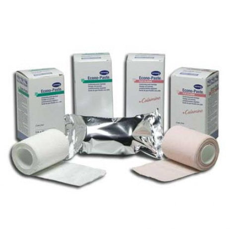 "econo paste plus calamine 4""x10 yds stretched hartmann una boot - Adventura Sickroom Supply"