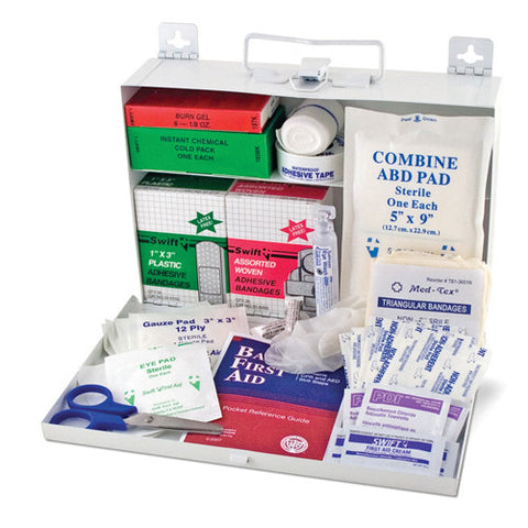 first aid kit metal box DMI - Adventura Sickroom Supply