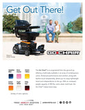 Go Chair Pride Mobility Electric Wheelchair - Adventura Sickroom Supply