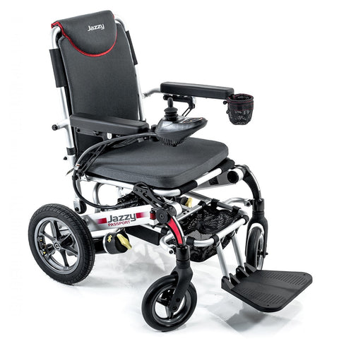 Folding Power Chair Jazzy Passport Pride - Adventura Sickroom Supply