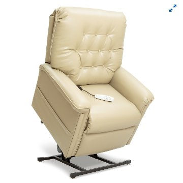 358 Heritage Series Lift Chair Ultraleather 3 positions w/Leg Ext PR-358 Pride - Adventura Sickroom Supply