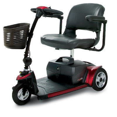 Scooter - 3 Wheels - GOGO Elite Traveller Plus - Pride - Adventura Sickroom Supply