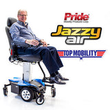 Jazzy Air Elevating Power Chair Adjustable High Back/Reclining - Adventura Sickroom Supply