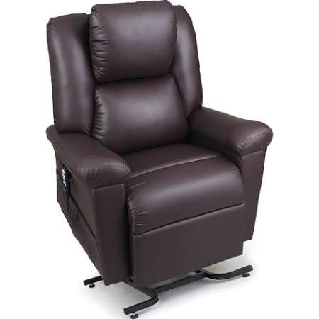 630 Brisa Maxicomfort DayDreamer series Lift Chair - Incredibly Soft Breathable and Luxurious Faux Leather Fabric - Adventura Sickroom Supply
