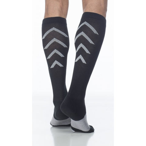 knee ATHLETIC sigvaris 15-20 compression socks - Adventura Sickroom Supply