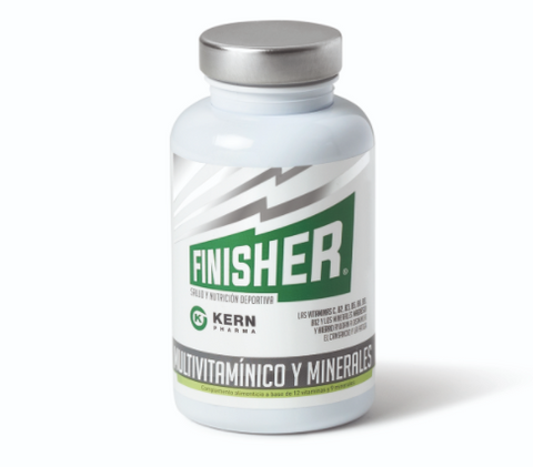 Finisher® Multivitamínico y Minerales.