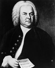 J.S. Bach's pieces: Piano sheet music at multi-levels