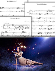 Beautiful Dreamer: Pick your level - Piano sheet music