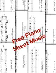 Free Piano Sheet Music From Galaxy Music Notes