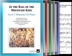 In the Hall of the Mountain King: Pick your level - Piano sheet music