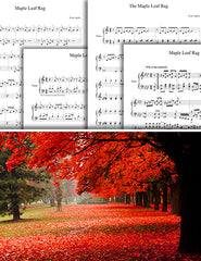 Maple Leaf Rag: Pick your level - Piano sheet music