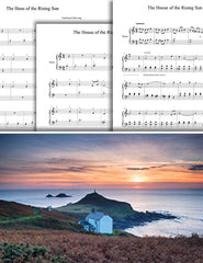 The House of the Rising Sun: Pick your level - Piano sheet music