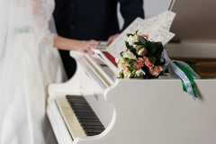 Music for Wedding: Piano sheet music at multi-levels