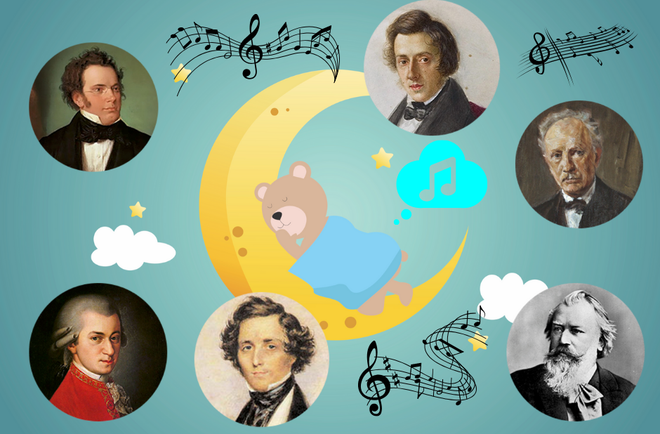 6 composers who composed lullabies