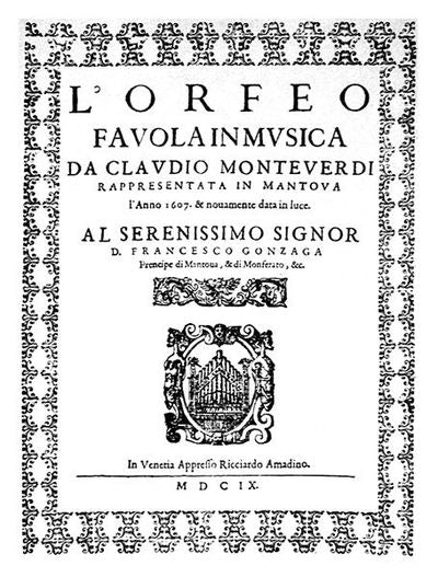 L'orfeo's poster