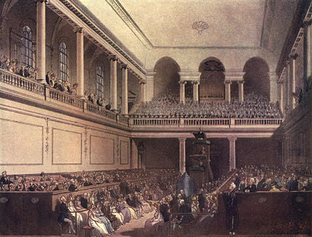Messiah performance at Foundling Hospital