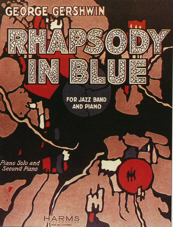 Rhapsody in Blue: cover of the music
