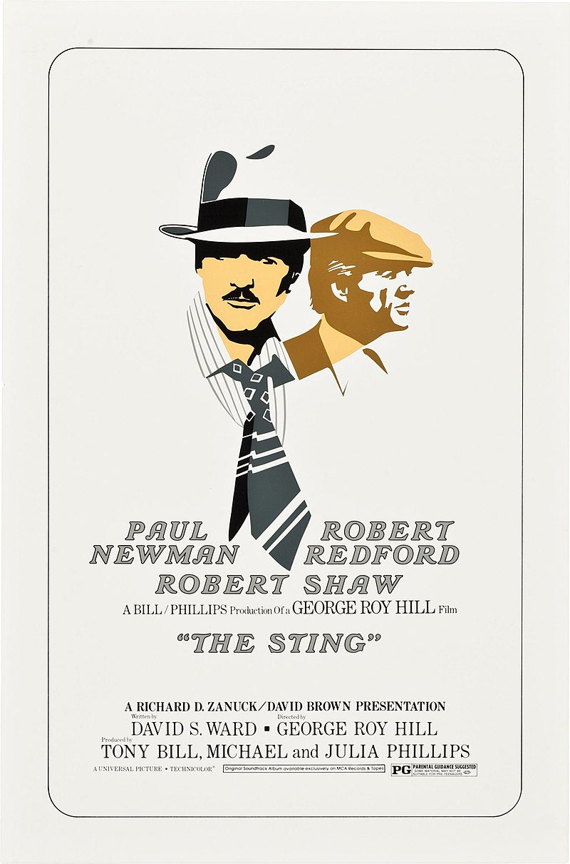 Poster of the film, The Sting
