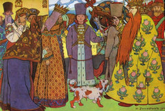 Act 1 from the opera The Tale of Tsar Saltan