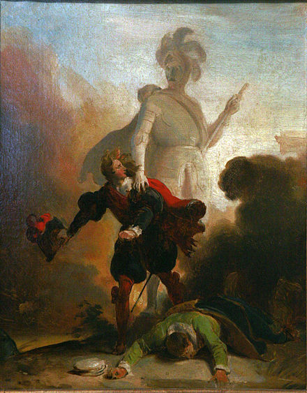 Don Giovanni: Painting of Act-2