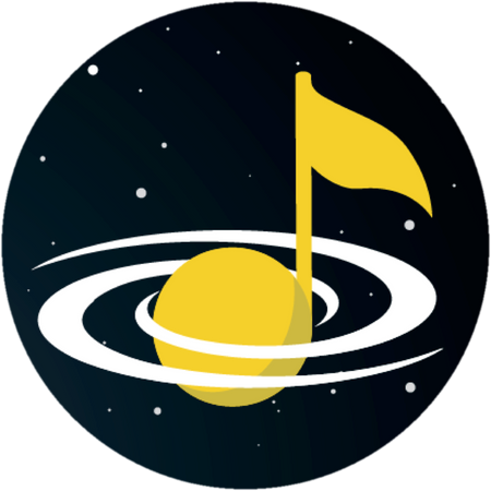 Galaxy Music Notes