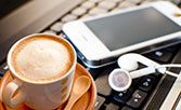 Relax & listen to music with Latte