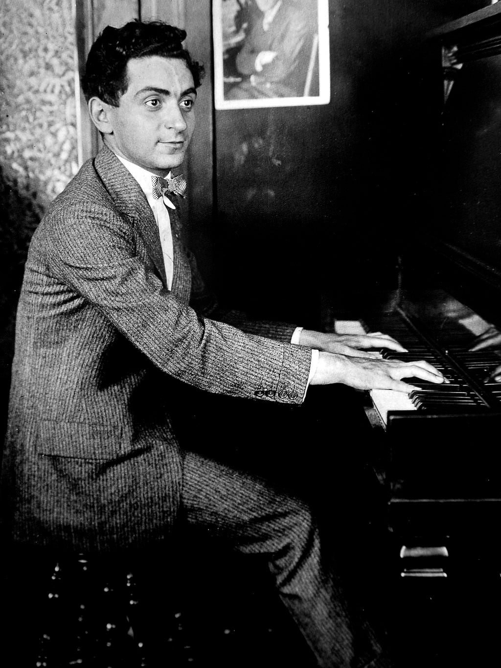 Irving Berlin at age 18