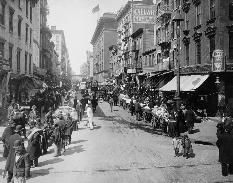 New York in early 1900s