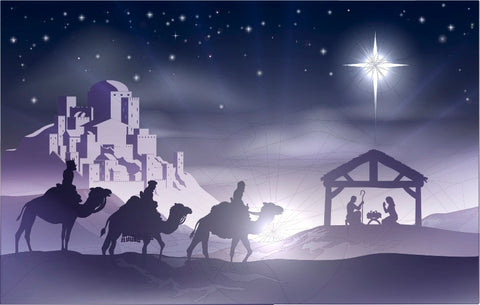 Jesus Christ's birth & 3 wise men