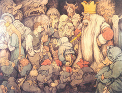 Mountain King in the play, Peer Gynt