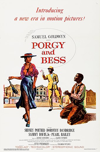"""Porgy and Bess"" poster"