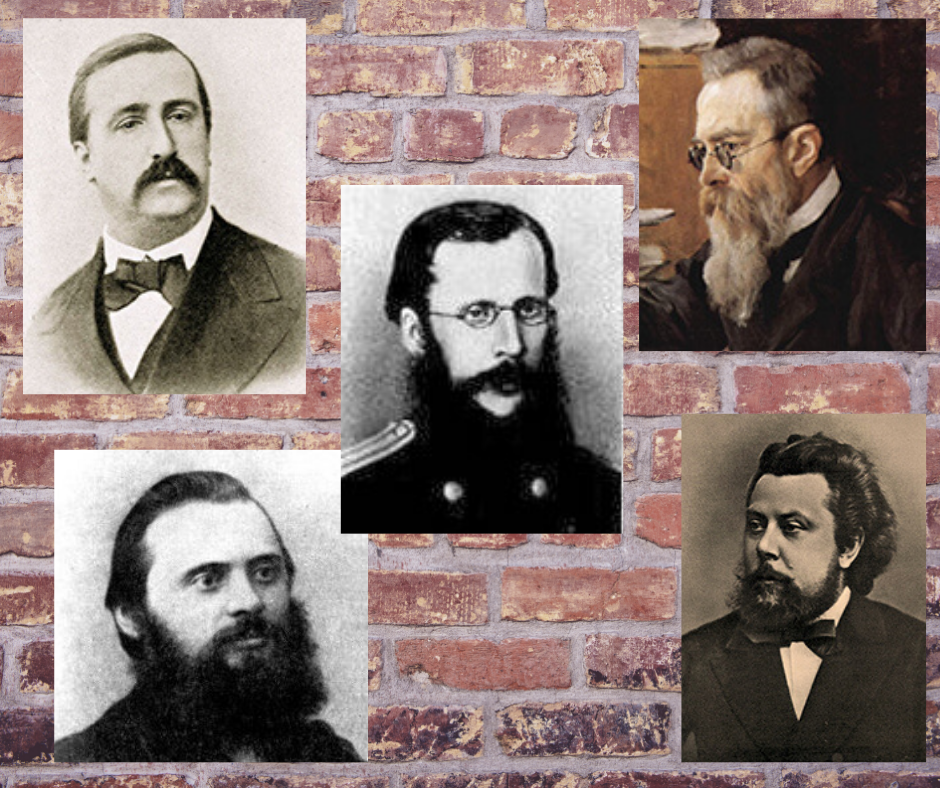 The Five: 5 Russian composers