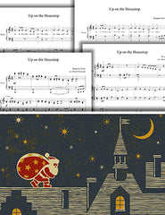 Up on the Housetop: 1st piano pages of multi-levels