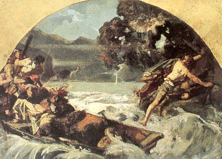Painting of a scene from William Tell
