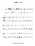 Rockin' Robin Level 1 - 1st piano music sheet