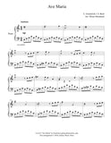 Ave Maria by Gounod: Level 4 - 1st music page