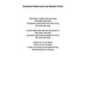 Camptown Races: Lyrics page