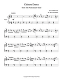 Chinese Dance Level 3 - 1st piano music sheet