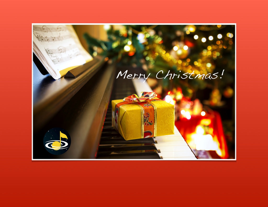eGift Card: Christmas - Galaxy Music Notes