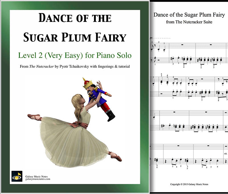 Dance of the Sugar Plum Fairy: Level 2 - cover sheet