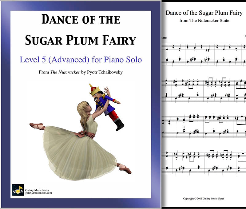 Dance of the Sugar Plum Fairy Level 5 - Cover & 1st page