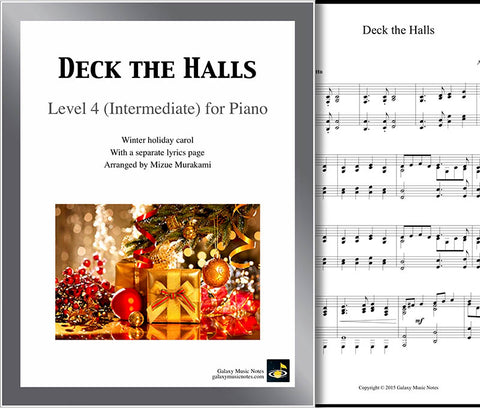 Deck the Halls Level 4 - Cover sheet & 1st page