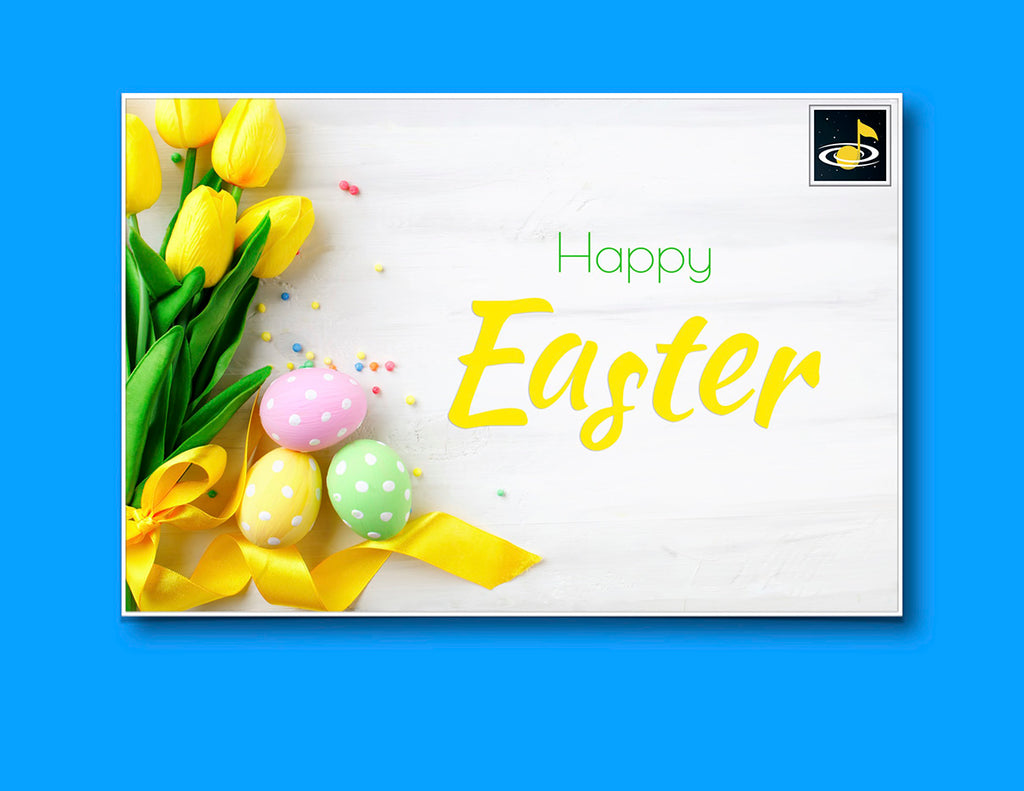 eGift Card: Easter - from Galaxy Music Notes