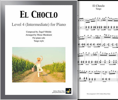 El Choclo Level 4 - Cover sheet