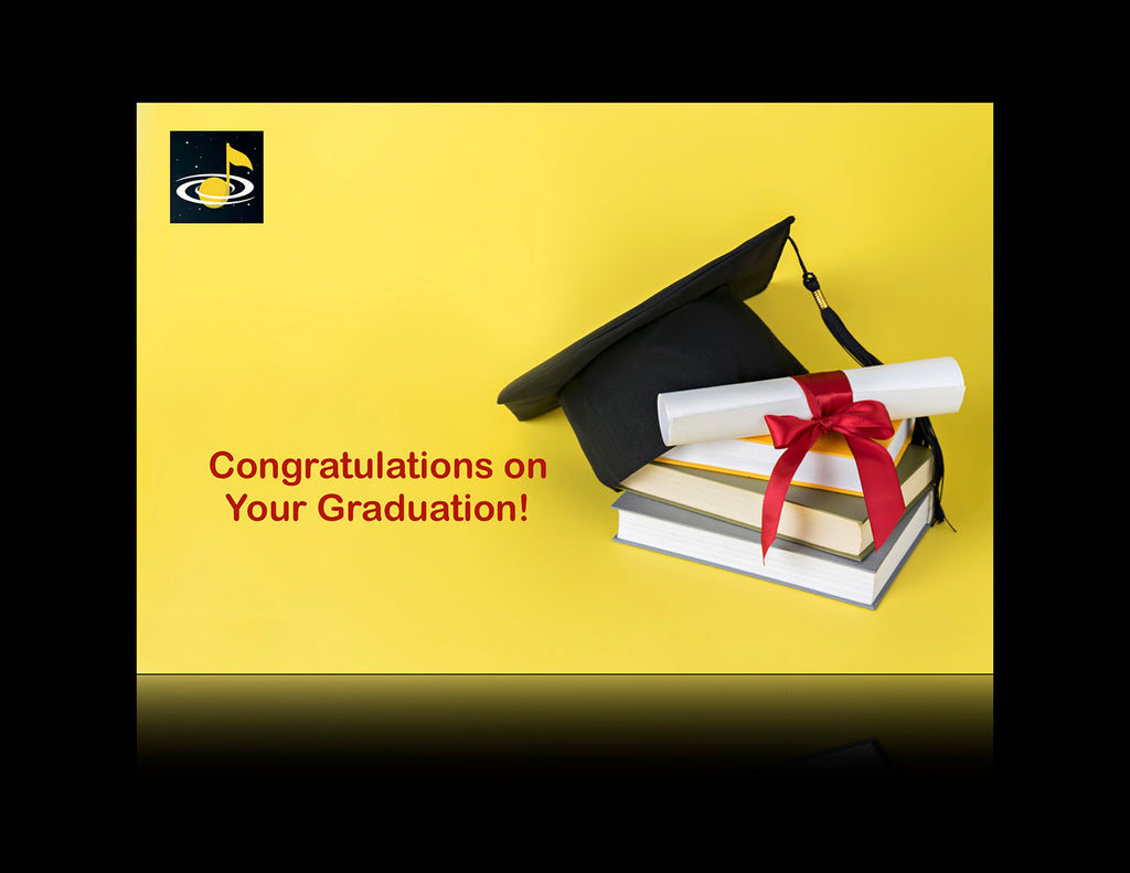 eGift Card: Graduation - from Galaxy Music Notes