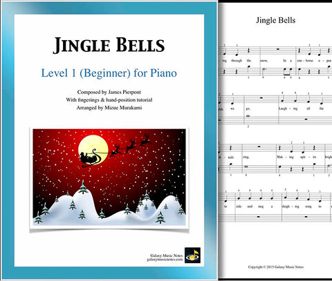 Jingle Bells: Level 1 - cover sheet