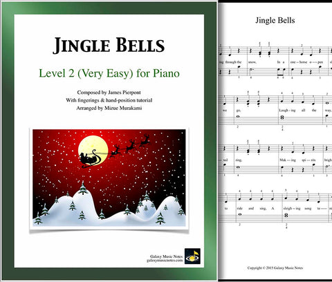 Jingle Bells Level 2 - Cover sheet & 1st page